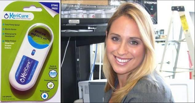 KeriCure founder Dr. Kerriann Greenhalgh - KeriCure